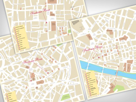 Sartoria Rossi Shopping Map