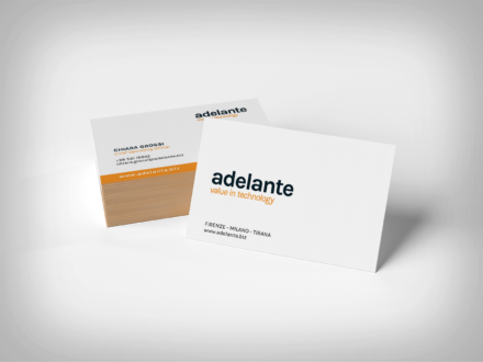 Adelante – Business card