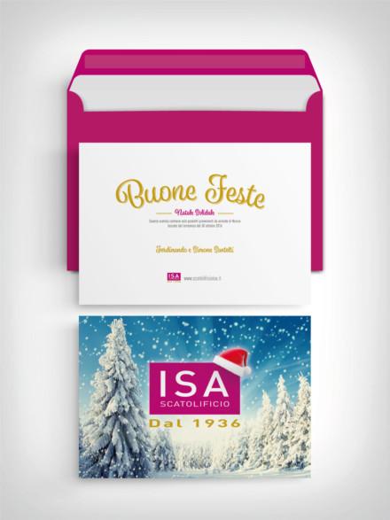 Scatolificio ISA – Auguri Natale