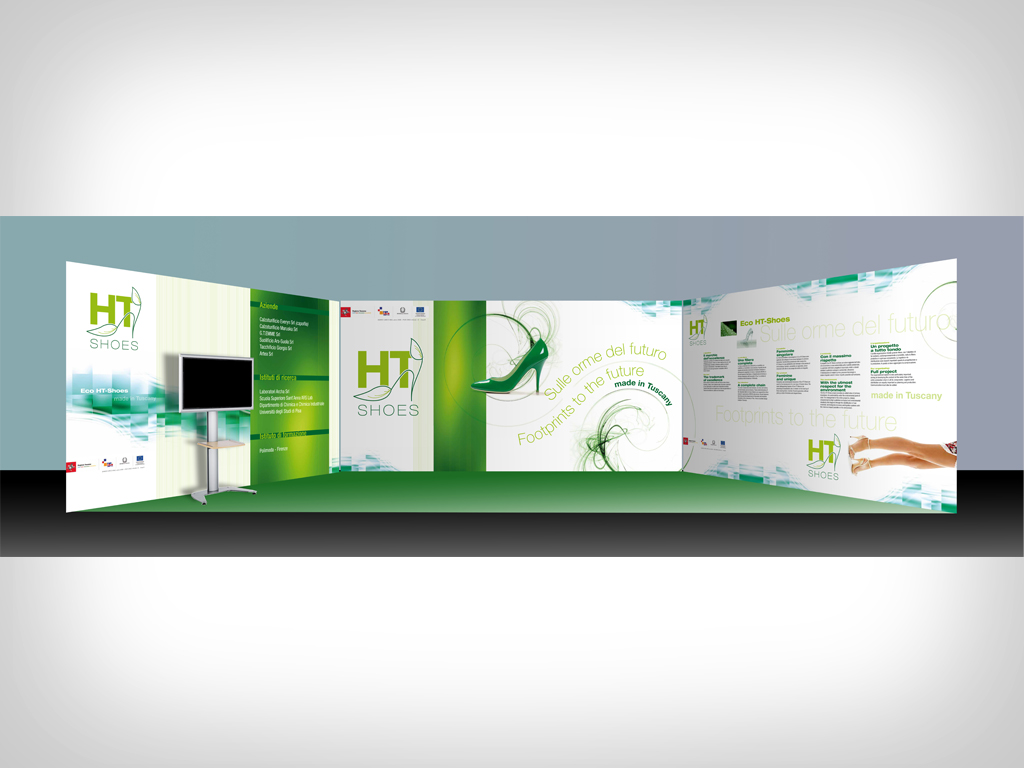 HT Shoes Stand