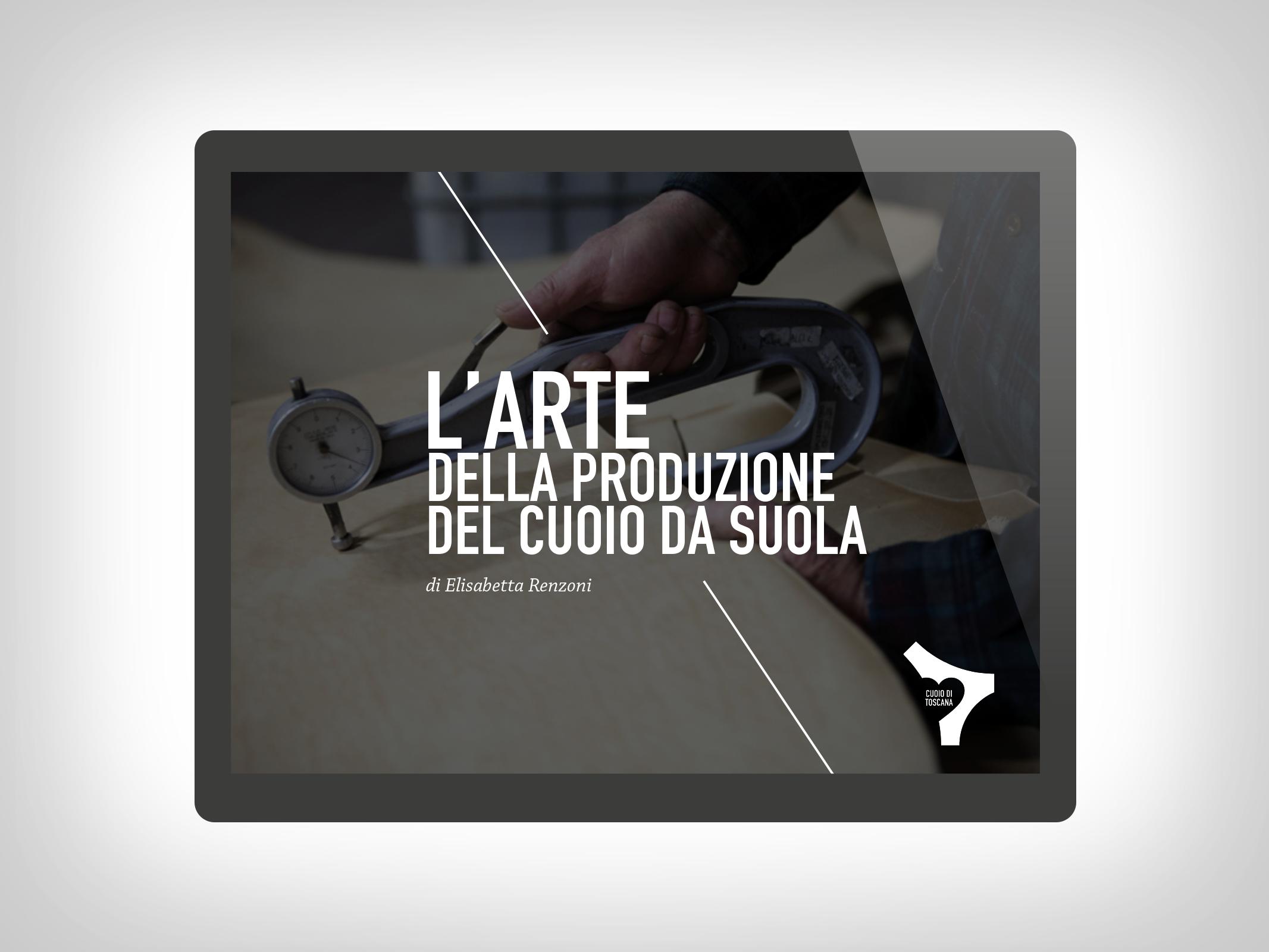 Cuoio di Toscana – Presentazione