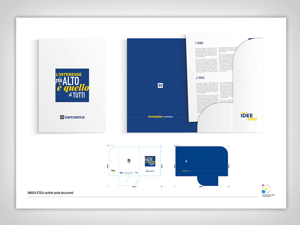 Banca Etica – Folder